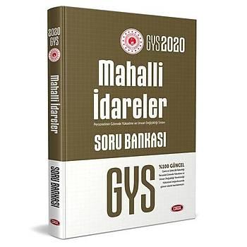 GYS Mahalli Ýdareler Soru Bankasý Data Yayýnlarý 2020