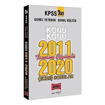 Yargý Yayýnlarý 2021 KPSS Genel Yetenek Genel Kültür Konu Konu Tamamý Çözümlü Çýkmýþ Sorular(2011-2020)