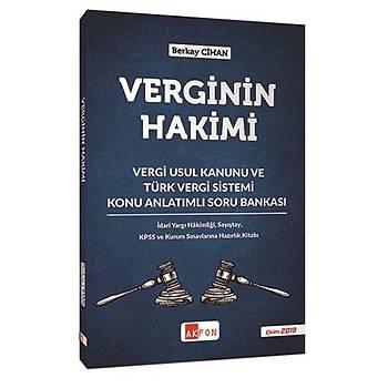 Verginin Hakimi Vergi Usul Kanunu Ve Türk Vergi Sistemi Konu Anlatýmlý Soru Bankasý Berkay Cihan Ekim 2019