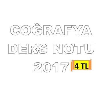 AKFON KPSS COÐRAFYA DERS NOTU 2017