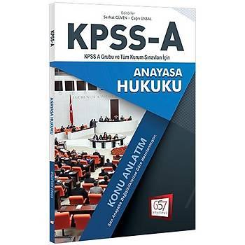 2018 KPSS A Grubu Anayasa Hukuku Konu Anlatým 657 Yayýnlarý