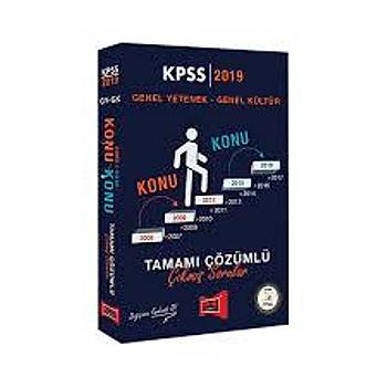 2019 KPSS Genel Yetenek Genel Kültür Konu Konu Tamamý Çözümlü Çýkmýþ Sorular Yargý Yayýnlarý
