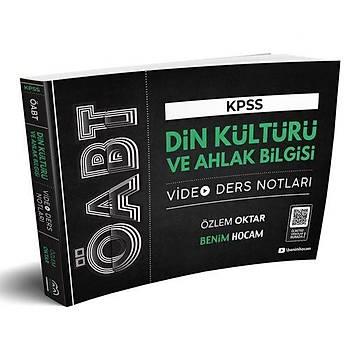 Benim Hocam Yayýnlarý 2020 ÖABT Din Kültürü ve Ahlak Bilgisi Öðretmenliði Video Ders Notlarý