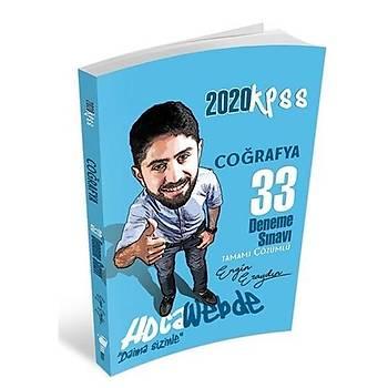 KPSS Coðrafya Tamamý Çözümlü 33 Deneme Sýnavý Hocawebde Yayýnlarý 2020