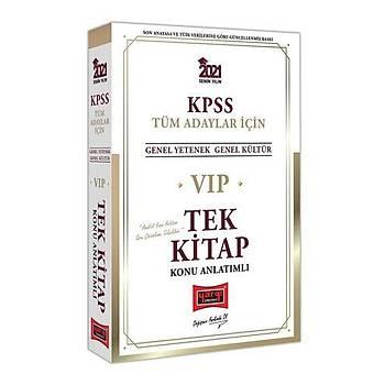 Yargý Yayýnlarý 2021 KPSS VIP Tüm Adaylar Ýçin Genel Yetenek Genel Kültür Konu Anlatýmlý Tek Kitap