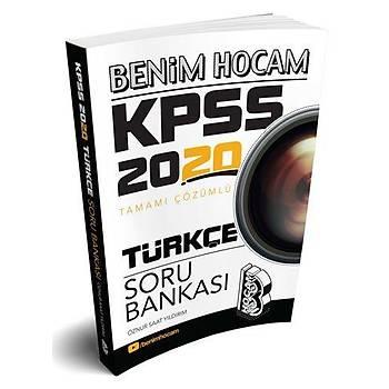 Benim Hocam 2020 KPSS Türkçe Soru Bankasý Çözümlü Öznur Saat Yýldýrým Benim Hocam Yayýnlarý