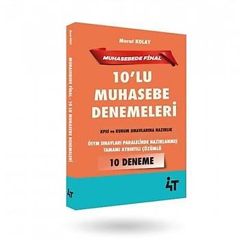 MUHASEBEDE FÝNAL - 10'LU MUHASEBE DENEMELERÝ