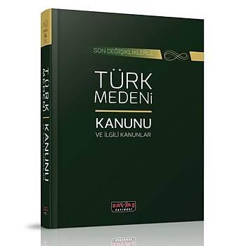Türk Medeni Kanunu ve Ýlgili Kanunlar - Savaþ Yayýnlarý Kanun Metinleri Mart 2020