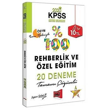 KPSS Eðitim Bilimleri Rehberlik ve Özel Eðitim Tamamý Çözümlü 20 Deneme Yargý Yayýnlarý 2020