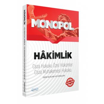 2020 Hakimlik Ceza Hukuku Özel Hükümler-Ceza Muhakemesi Hukuku Ders Notlarý Ve Sorularý Monopol Yayýnlarý
