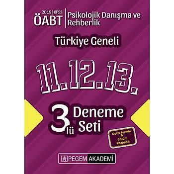 Pegem 2019 ÖABT Rehberlik ve Psikolojik Danýþmanlýk Öðretmenliði Türkiye Geneli 3 Deneme (11.12.13) Pegem Akademi Yayýnlarý