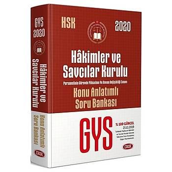 Data 2020 GYS HSK Hakimler ve Savcýlar Kurulu Konu Anlatýmlý Soru Bankasý Görevde Yükselme