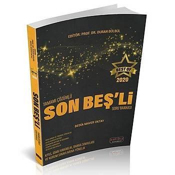 BEST OF Son Beþli Tamamý Çözümlü Soru Bankasý Savaþ Yayýnlarý 2020