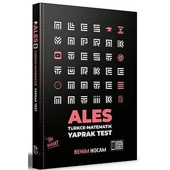 Benim Hocam Yayýnlarý 2021 ALES Çek Kopart Yaprak Test