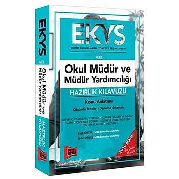 EKYS MEB Okul Müdür ve Müdür Yardýmcýlýðý Hazýrlýk Kýlavuzu Yargý Yayýnlarý 2019