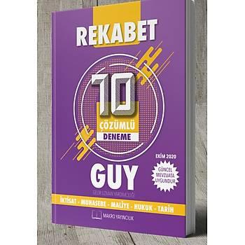 REKABET Gelir Uzman Yardýmcýlýðý  Tamamý Çözümlü 10 Deneme Ekim 2020