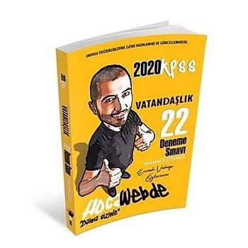 KPSS Vatandaþlýk 22 Deneme Hocawebde Yayýnlarý 2020