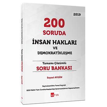 200 Soruda Ýnsan Haklarý ve Demokratikleþme 2020 Soysal Aygün Akfon Yayýnlarý