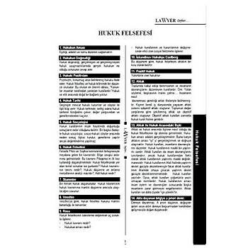Hukuk Felsefesi Notlu Öðrenci Defteri Lawyer Defter Aralýk 2018