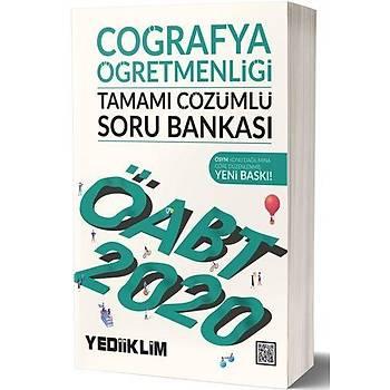 ÖABT Coðrafya Öðretmenliði Soru Bankasý Yediiklim Yayýnlarý 2020
