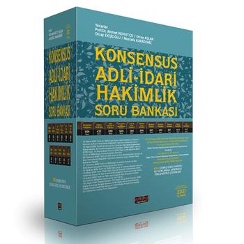 KONSENSUS Adli-Ýdari Hakimlik Soru Bankasý (Ýþ Hukuku Dahil) Modüler Set Ahmet Nohutçu 2021