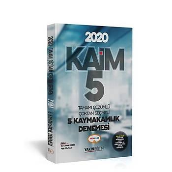 YEDÝÝKLÝM 2020 KAÝM TAMAMI ÇÖZÜMLÜ 5 KAYMAKAMLIK DENEMESÝ