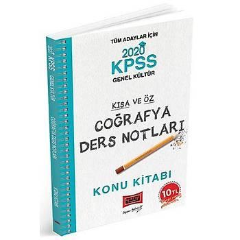 KPSS Coðrafya Kýsa ve Öz Ders Notlarý Yargý Yayýnlarý 2020