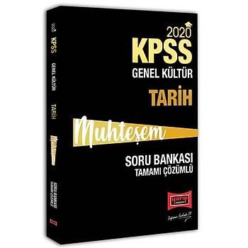 KPSS Muhteþem Tarih Tamamý Çözümlü Soru Bankasý Yargý Yayýnlarý 2020