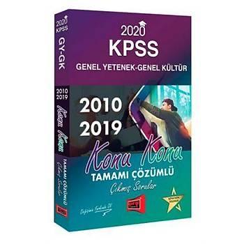 2020 KPSS Genel Yetenek Genel Kültür Konu Konu Tamamý Çözümlü Çýkmýþ Sorular Yargý Yayýnlarý