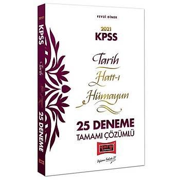 KPSS Tarih Hatt-ý Hümayun Tamamý Çözümlü 25 Deneme Yargý Yayýnlarý 2021