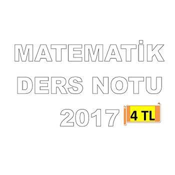 AKFON KPSS MATEMATÝK DERS NOTU 2017