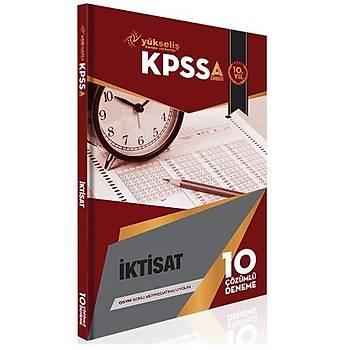 KPSS A Grubu Ýktisat Çözümlü 10 Deneme Yükseliþ Kariyer Yayýnlarý 2016