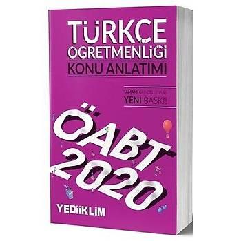 ÖABT Türkçe Öðretmenliði Konu Anlatýmlý Yediiklim Yayýnlarý 2020