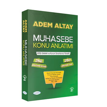 Muhasebe Konu Anlatýmý Adem Altay Monopol Yayýnlarý 2020