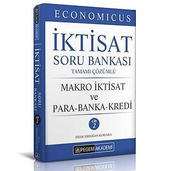 2019 KPSS A Grubu Economicus Makro Ýktisat ve Para-Banka-Kredi Tamamý Çözümlü Soru Bankasý Pegem Yayýnlarý (cilt 2)