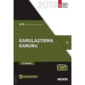 2019 SEÇKÝN YAYINCILIK KAMULAÞTIRMA KANUNU  (CEP BOY)
