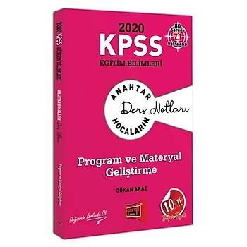 KPSS Eðitim Bilimleri Program ve Materyal Geliþtirme Ders Notlarý Yargý Yayýnlarý 2020