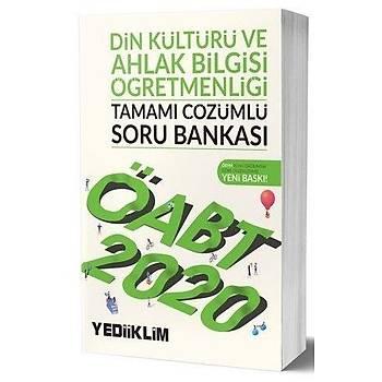 ÖABT Din Kültürü ve Ahlak Bilgisi Öðretmenliði Soru Bankasý Yediiklim Yayýnlarý 2020