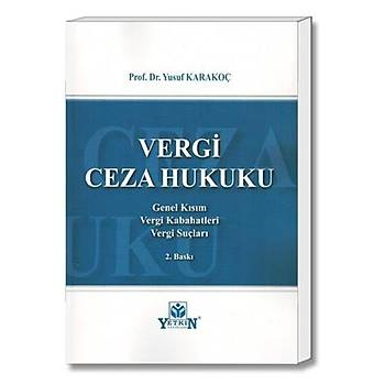 Vergi Ceza Hukuku - Yusuf Karakoç