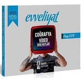 Ýsem 2020 KPSS Evveliyat Coðrafya Video Ders Notlarý Ýsem Yayýnlarý