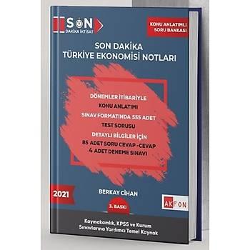 Son Dakika Türkiye Ekonomisi Notlarý Berkay Cihan Þubat 2021