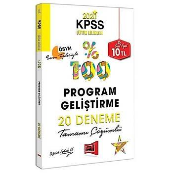 KPSS Eðitim Bilimleri Program Geliþtirme Tamamý Çözümlü 20 Deneme Yargý Yayýnlarý 2020