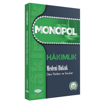 2021 Hakimlik Medeni Hukuk Ders Notlarý ve Sorularý Monopol Yayýnlarý