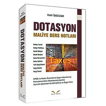 Dotasyon Maliye Ders Notlarý - Halil Ýþgüzar