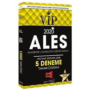 Yargý Yayýnlarý 2020 ALES VIP Yeni Sýnav Sistemine Göre Tamamý Çözümlü 5 Deneme
