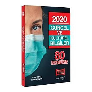 Yargý Yayýnlarý 2020 Güncel ve Kültürel Bilgiler 80 Deneme