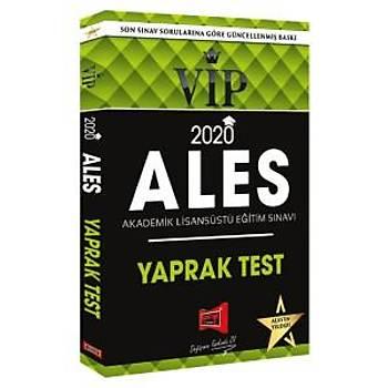 Yargý Yayýnlarý 2020 ALES VIP Yaprak Test