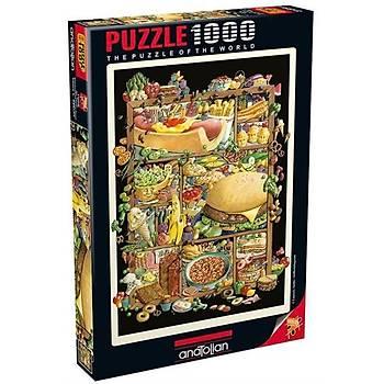 PUZZLE 1000 PARÇA - NE YESEK / SHADOWBOX HUNT-FOOD