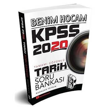 Benim Hocam 2020 KPSS Tarih Soru Bankasý Çözümlü Ramazan Yetgin Benim Hocam Yayýnlarý