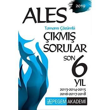 Pegem 2019 ALES Çýkmýþ Sorular Son 6 Yýl Çözümlü Pegem Akademi Yayýnlarý